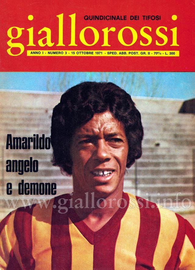 Clicca per leggere il n. 3 – 15 ottobre 1971