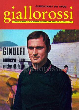 Giallorossi n. 5 - 15 novembre 1971 [Copertina]