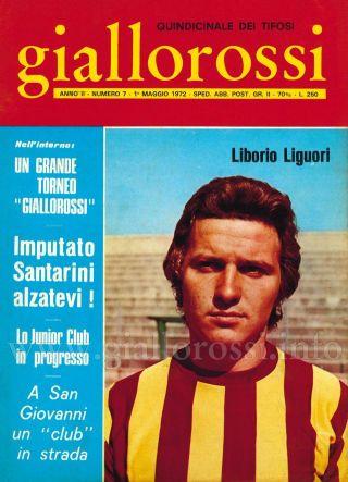 Giallorossi n. 7 – 1° maggio 1971 [Copertina]