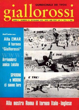 Giallorossi n. 10 – 30 giugno 1971 [Copertina]