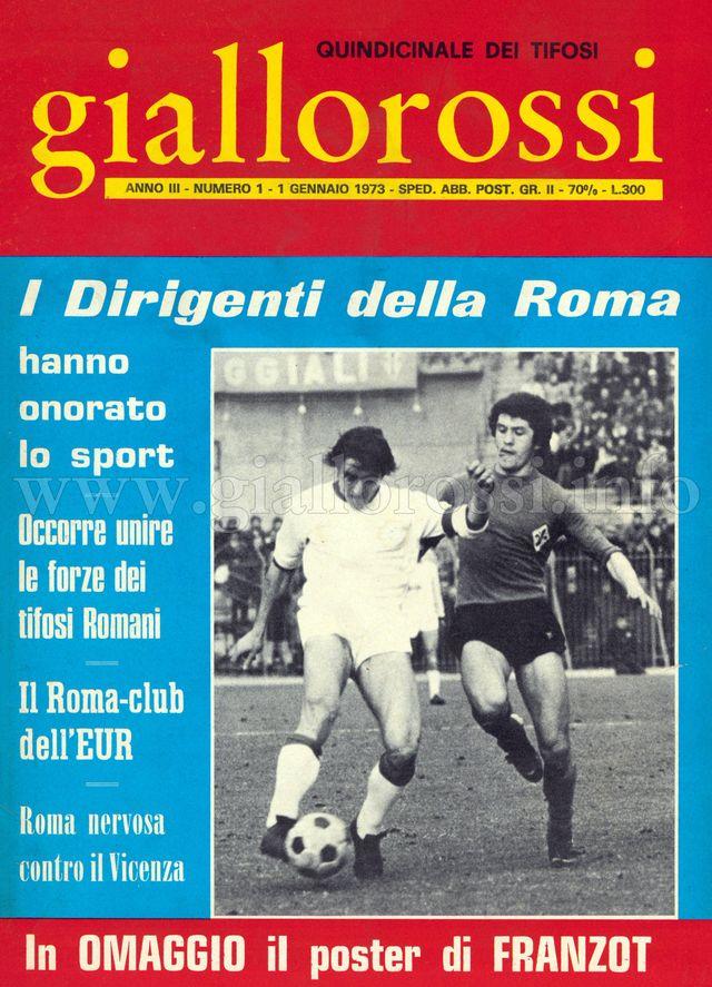 Clicca per leggere il n. 1 (17) del 1° gennaio 1973