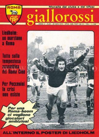 Giallorossi n. 29 - 20 gennaio 1974 [Copertina]