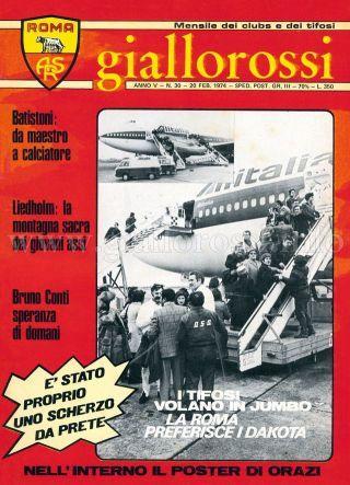 Giallorossi n. 30 - 20 febbraio 1974 [Copertina]