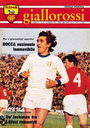 Giallorossi n. 40 - 15 marzo 1975 [Copertina]