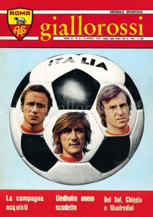 Giallorossi n. 41 - 15 aprile 1975 [Copertina]