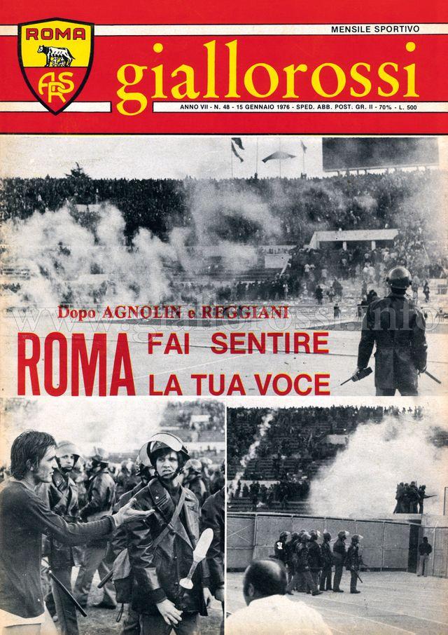 Clicca per leggere il n. 48 del 15 gennaio 1976