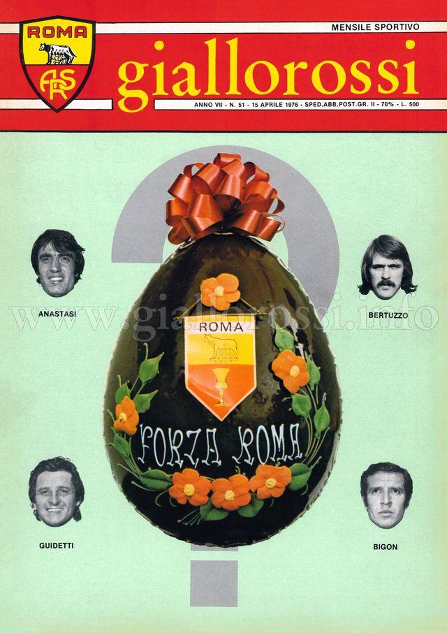 Clicca per leggere il n. 51 del 15 aprile 1976