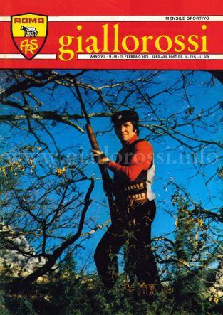 Giallorossi n. 49 - 15 gennaio 1976 [Copertina]
