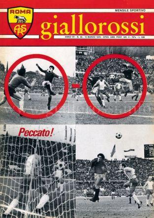 Giallorossi n. 50 - 15 marzo 1976 [Copertina]
