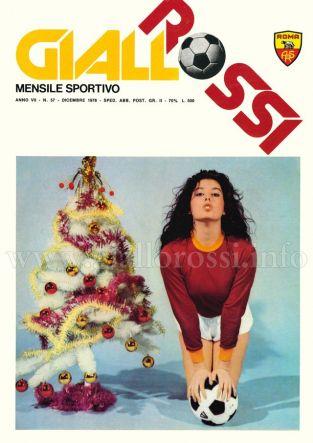 Giallorossi n. 57 - Dicembre 1976 [Copertina]