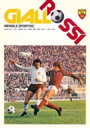 Giallorossi n. 60 - Marzo 1977 [Copertina]