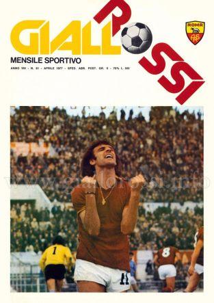 Giallorossi n. 61 - Aprile 1977 [Copertina]