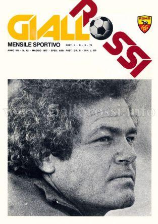 Giallorossi n. 62 - Maggio 1977 [Copertina]