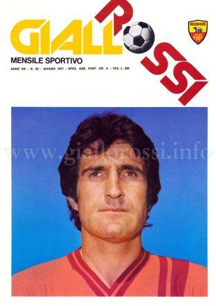Giallorossi n. 63 - Giugno 1977 [Copertina]
