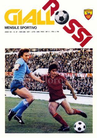 Giallorossi n. 67 – Novembre/Dicembre 1977 [Copertina]