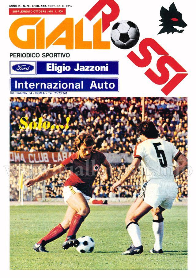 Clicca per leggere il n. 76 - Ottobre 1978 (supplemento)