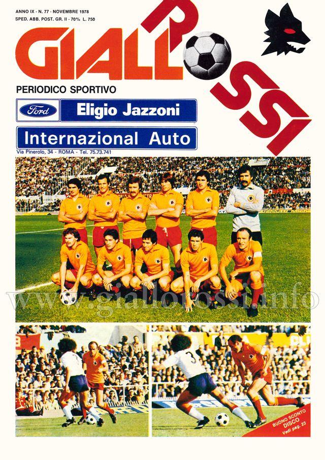 Clicca per leggere il n. 77 - Novembre 1978