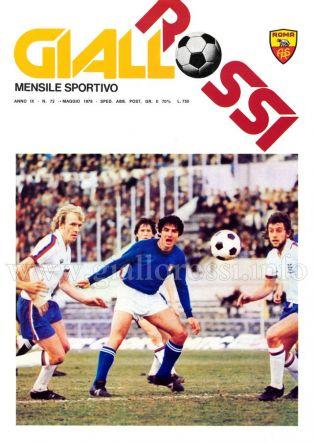 Giallorossi n. 72 – Maggio 1978 [Copertina]