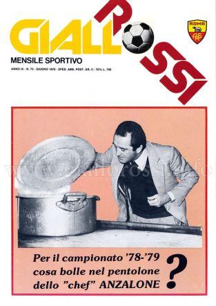 Giallorossi n. 73 – giugno 1978 [Copertina]