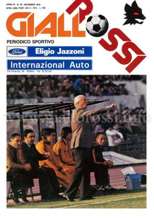 Giallorossi n. 78 – Dicembre 1978 [Copertina]