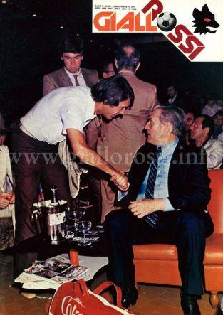 Giallorossi n. 85 – Luglio/Agosto 1979 [Copertina]