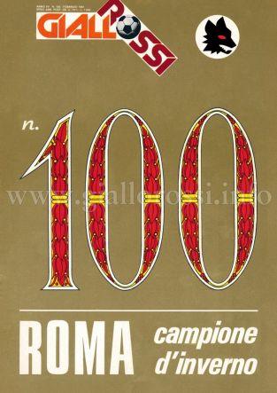 Giallorossi n. 100 – Febbraio 1981 [Copertina]