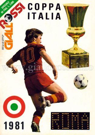 Giallorossi n. 104 – Giugno 1981 [Copertina]