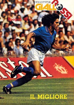 Giallorossi n. 115 – Luglio/Agosto 1982 [Copertina]