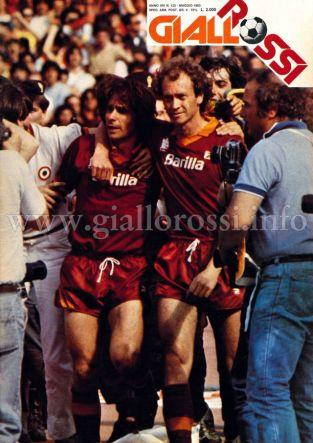Giallorossi n. 123 – Maggio 1983 [Copertina]