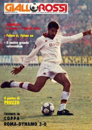 Giallorossi n. 131 – Marzo 1984 [Copertina]