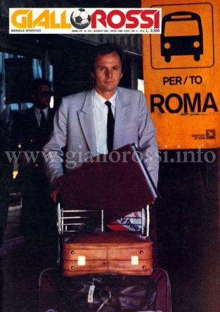 Giallorossi n. 134 – Giugno 1984 [Copertina]