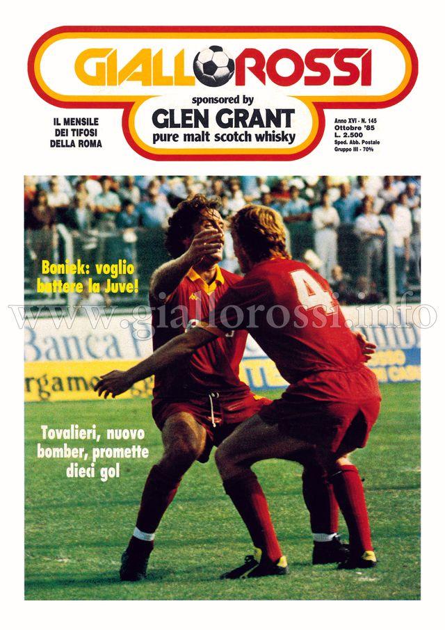 Clicca per leggere il n. 145 – Ottobre 1985