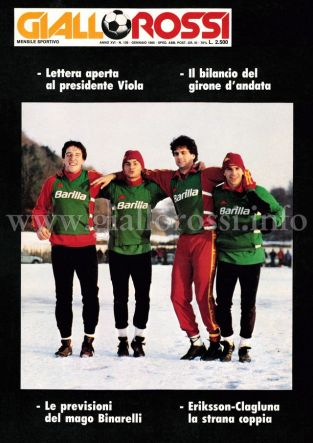 Giallorossi n. 139 - Gennaio 1985 [Copertina]