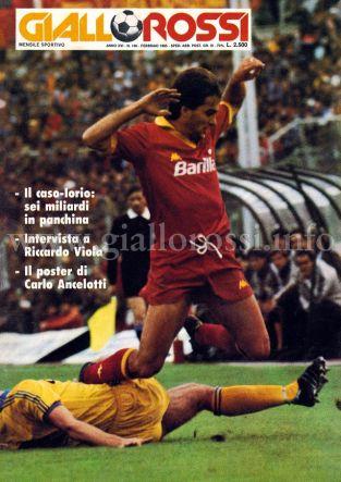 Giallorossi n. 140 – Febbraio 1985 [Copertina]