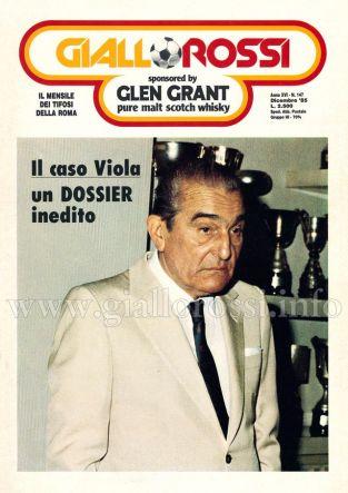 Giallorossi n. 147 – Dicembre 1985 [Copertina]