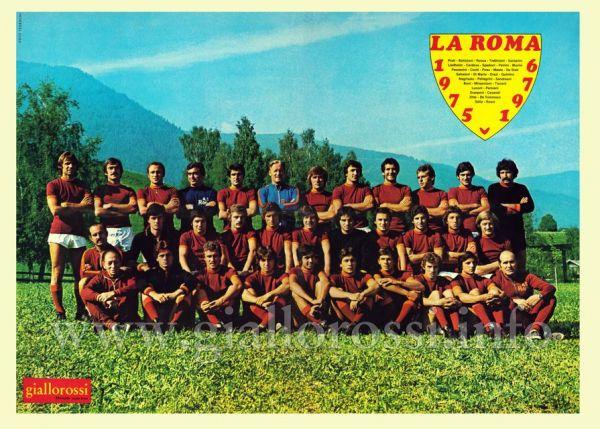 A.S. Roma - Stagione Sportiva 1975/76