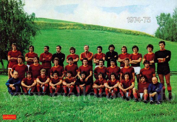 A.S. Roma - Stagione Sportiva 1974/75