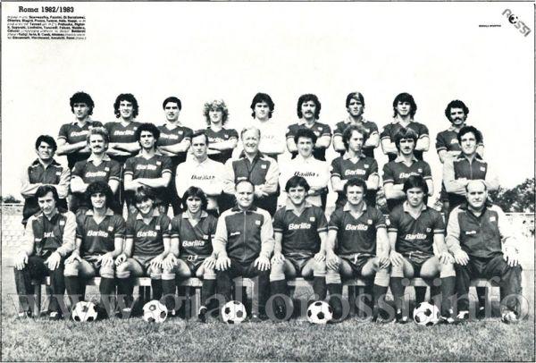La Roma '82-'83