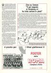 Pubblicità poster, Giallorossi n. 126 - Ottobre 1983