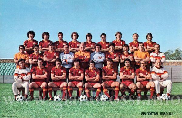A.S. Roma - Stagione Sportiva 1980/81