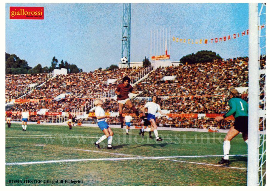 Gol di Pellegrini in Roma-Oester