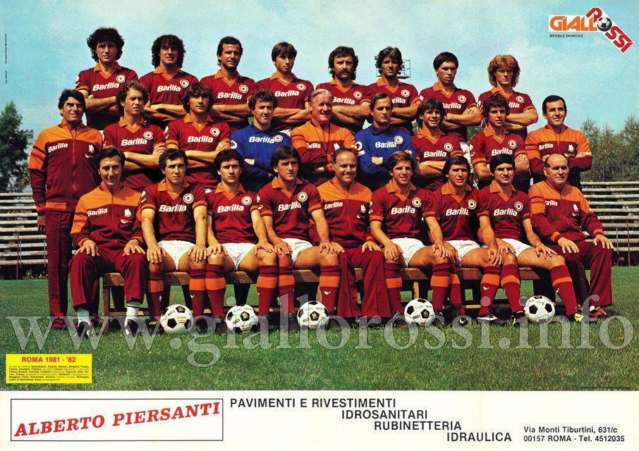 Scarnecchia • Faccini • Spinosi • Birigozzi • Pruzzo • Turone • Ancelotti • Chierico • Tessari (all. in 2ª) • Falcao • Bonetti • Tancredi • Liedholm (all.) • Superchi • Nela • Perrone • Colucci (prep. atl.) • Boldorini (mass.) • Maggiora • Sorbi • Giovannelli • Alicicco (medico sociale) • Marangon • Conti • Di Bartolomei • Rossi (mass.)