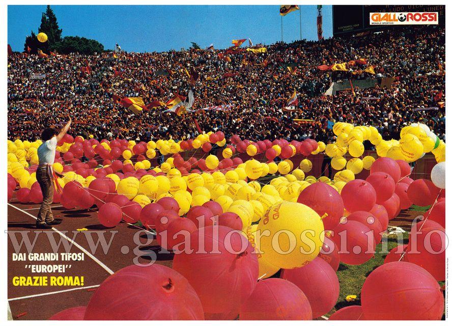 La Curva Sud (Roma-Juventus 0-0 del 15-4-84)