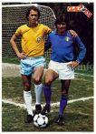 Paulo Roberto Falcão e Bruno Conti
