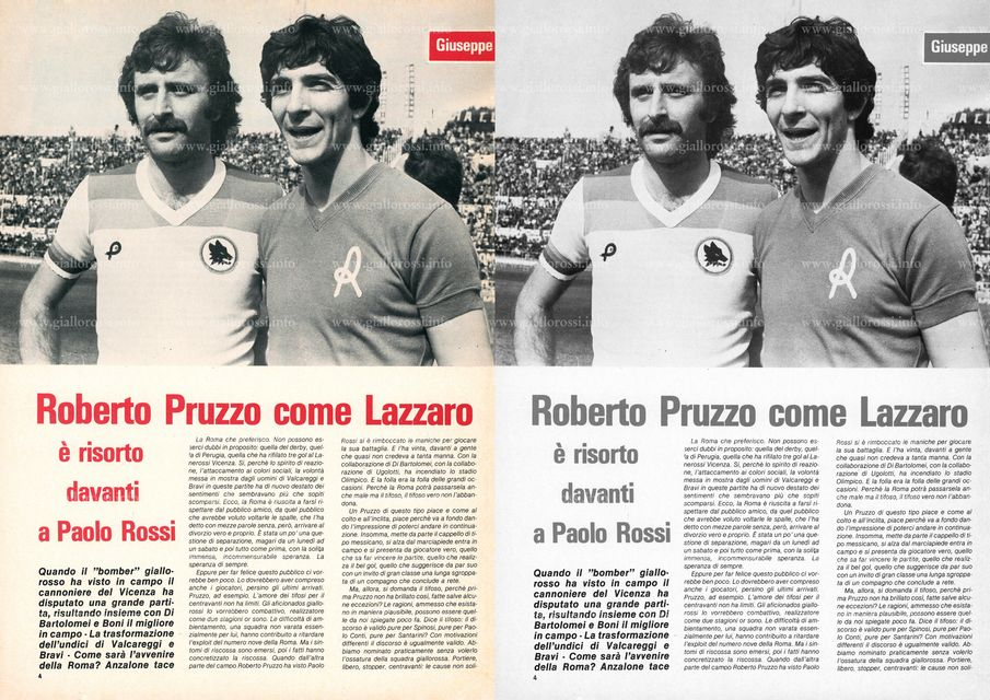 Giallorossi n. 82 - Aprile 1979, pag. 4
